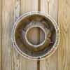 メッシュプランター・ラウンド 20cm (ホワイト) (IN-FMP01-20W)