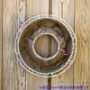 メッシュプランター・ラウンド 40cm (ホワイト) (IN-FMP01-40W)