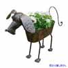 アイアン製・アニマルポット 犬の鉢カバー (TY-37040)