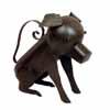 アイアン製・アニマルジョウロ 犬 (TY-37136)