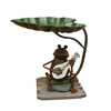 アイアン製・アニマルオブジェ 楽器と蛙 (TY-86103)