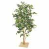 人工観葉植物 ベンジャミン板付 ナターシャ 1.3m (TK-GD-121)