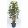 人工観葉植物 シュロチク7本立 鉢付 1.8m (TK-GD-128L)
