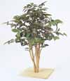 人工観葉植物 ミニ サザンカ 板付 60cm (TK-GD-13)