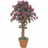 人工観葉植物 リアナ ブーゲンビリア 1.5m (TK-GD-46S)