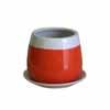 バイカラー ラウンド 19cm (オレンジ) (MH-TS-141514OR)
