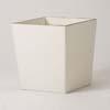 上質レザー植木鉢カバー Lサイズ 40cm (アイボリー) (10号用) (Cd-Le1-L-Iv)
