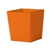 上質レザー植木鉢カバー Lサイズ 40cm (オレンジ) (10号用) (Cd-Le1-L-Or)