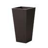 上質レザー植木鉢カバー LHサイズ 40cm (ダークブラウン) (10号用) (Cd-Le1-LH-Db)