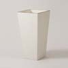 上質レザー植木鉢カバー LHサイズ 40cm (アイボリー) (10号用) (Cd-Le1-LH-Iv)