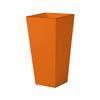 上質レザー植木鉢カバー LHサイズ 40cm (オレンジ) (10号用) (Cd-Le1-LH-Or)