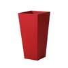 上質レザー植木鉢カバー LHサイズ 40cm (ロッソ) (10号用) (Cd-Le1-LH-Rd)