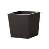 上質レザー植木鉢カバー Mサイズ 31cm (ダークブラウン) (8号用) (Cd-Le1-M-Db)