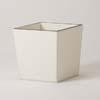 上質レザー植木鉢カバー Mサイズ 31cm (アイボリー) (8号用) (Cd-Le1-M-Iv)