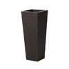上質レザー植木鉢カバー MHサイズ 31cm (ダークブラウン) (8号用) (Cd-Le1-MH-Db)