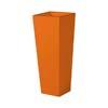 上質レザー植木鉢カバー MHサイズ 31cm (オレンジ) (8号用) (Cd-Le1-MH-Or)