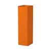上質レザー植木鉢カバー SHサイズ 22cm (オレンジ) (6号用) (Cd-Le1-SH-Or)