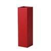 上質レザー植木鉢カバー SHサイズ 22cm (ロッソ) (6号用) (Cd-Le1-SH-Rd)
