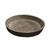 フォリオ・ソーサー・ラウンド 19.5cm (ブラックウォッシュ) (MH-EB-SL234020BLW)