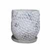 メッシュラウンド 19cm (受け皿付) (ホワイト) (CP-G30432SW)
