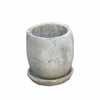 プレーン・ラウンド 16cm (受け皿付) (ホワイト) (CP-HY1102W)