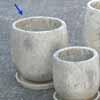 プレーン・ラウンド 20cm (受け皿付) (ホワイト) (CP-HY1104W)