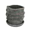 ウェーブラウンド 15cm (受け皿付) (ブラック) (CP-HY1651B)