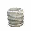 ウェーブラウンド 15cm (受け皿付) (ホワイト) (CP-HY1651W)