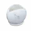 オーバル・ポット 13.5cm (受け皿付) (ホワイト) (CP-JS0081RD)