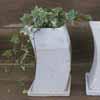 ムーンポット・リム 16cm (受け皿付) (ホワイト) (CP-JS6663HN)