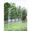 アイアン製・ガーデンアーチ (ホワイトグリーン) (TY-85661)