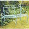 アイアン製・ガーデンベンチ W136cm (IN-ABCB17-01)