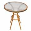 ガーデン・テーブル 64cm (ガラス) (TY-85805)