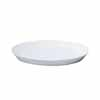 陶器 受け皿 丸型 ホワイト 19cm (TT-PR19)