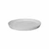 陶器 受け皿 丸型 マットホワイト 22.5cm (TT-PRM23)