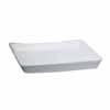 陶器 受け皿 角型 ホワイト 20cm (TT-PS20)