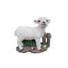 壁掛けハンギングオブジェ・羊 21.9cm (MT-W-403)