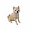オブジェ・柴犬 18.8cm (MT-W-451)