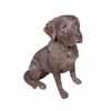オブジェ・犬・ラブラドールチョコレート (MT-W-457)