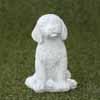 ガーデンオブジェ(置物) 犬・ボビー (NS-TE0462)