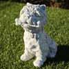 ガーデンオブジェ(置物) 犬・プルート (NS-TE0463)