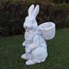 ガーデンオブジェ(置物) ウサギ・チップ (NS-TE0471)