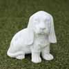 ガーデンオブジェ(置物) 犬・バセット (NS-TE5760)