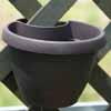 【アウトレット】ドレーンパイプクリッカー・ハンギング 20cm (リビングブラック) (OUT-E014320-LVBK)