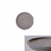 ラウンドソーサー グレー 40cm (IR-TLS400Gy)