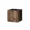 リサイクルウッド・キューブ 33.5cm (樹脂インナー付) (YT-RE-302X33E)
