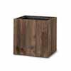 リサイクルウッド・キューブ 43.5cm (樹脂インナー付) (YT-RE-302X43E)