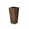 リサイクルウッド・スクエアトール H75cm (樹脂インナー付) (YT-RE-309X75E)
