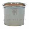 イギリスRHS・プレミアム釉薬鉢・ミルズ 22cm (グレー) (SS-SPK-RH02S-GL)