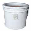 イギリスRHS・プレミアム釉薬鉢・ミルズ 22cm (ホワイト) (SS-SPK-RH02S-WT)